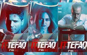 Ittefaq Trailer ft. Sidharth Malhotra, Sonakshi Sinha, Akshaye Khanna