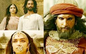 Padmavati Trailer ft. Ranveer Singh, Shahid Kapoor,  Deepika Padukone