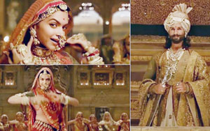 Padmavati Song Ghoomar: Deepika Padukone Is Every Bit The Queen And Shahid Kapoor's Smitten