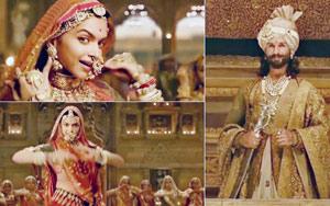 Padmavati Song Ghoomar: Deepika Padukone Is Every Bit The Queen And Shahid Kapoor's Smitten