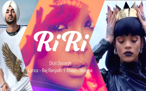Punjabi singer Diljit Dosanjh dedicates song to Rihanna called RiRi