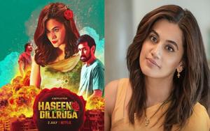WATCH: Haseen Dillruba | Official Trailer | Taapsee Pannu, Vikrant Massey, Harshvardhan Rane| Netfli