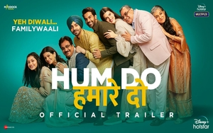WATCH: Hum Do Hamare Do Trailer streaming on Disney Plus and Hot Star Multiplex on Oct 29