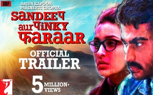 WATCH: Sandeep Aur Pinky Faraar -Trailer starring Parineeti Chopra releases March 19th