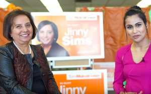 NDP Candidate For Surrey Newton, Jinny Sims Talk To Darpan Magazine