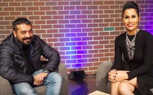 Ace Bollywood Director Anurag Kashyap At Darpan Chat Central