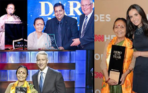Darpan Honours Anuradha Koirala, CNN Hero Fighting Against The Vile Trade Of Human Trafficing