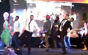 Men In Suits ALMOST Break The Stage With Bhangra Dance At Darpan Awards 2016