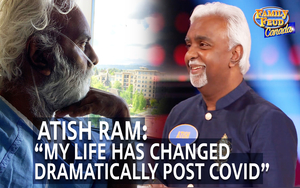 WATCH: South Asian Media Personality Atish Ram's Urgent Plea to the Community as Covid Survivor
