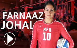 Meet Farnaaz Johal - SFU's Volley Ball Star