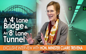 WATCH Transportation and Infrastructure Minister Claire Trevana's Interview
