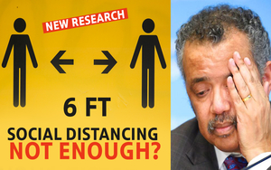 NEW RESEARCH SHOWS 6 Feet Social Distancing Not Enough?