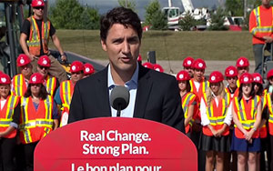 What Is Justin Trudeau's Infrastructure Plan