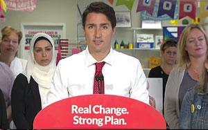 Justin Trudeau Calls Tom Mulcair Disingenuous