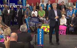 Stephen Harper And All His Man Friends