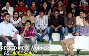 Thought 'Abey Saale' Was Friendly Greeting, Says Google CEO Sundar Pichai At IIT