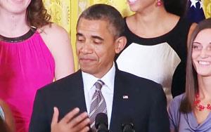 Watch Barack Obama Singing Shape of You by Ed Sheeran