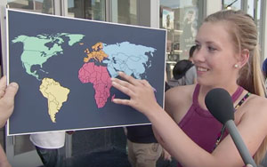 Jimmy Kimmel Asks If Americans Can Find North Korea On a Map