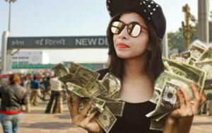 Dhinchak Pooja Asks Her Bapu For Thoda Cash In New Song. It's Trending