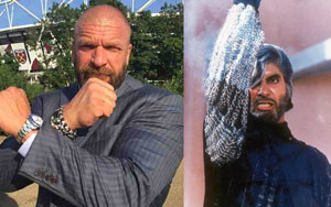 WWE Superstar Triple H Attempts Amitabh Bachchan's 'Shahenshah' Dialogue