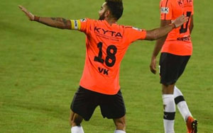 Virat Kohli Celebrates His Goal With A 'Delhiwala' BHANGRA, Watch Video