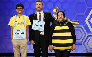 Jimmy Kimmel vs. Indian-Origin 14-Year-Old Spelling Bee Winner Karthik Nemmani