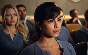 Priyanka Chopra in Quantico Trailer