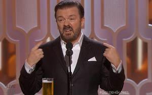 Golden Globes 2016: Watch Ricky Gervais' Opening Monologue