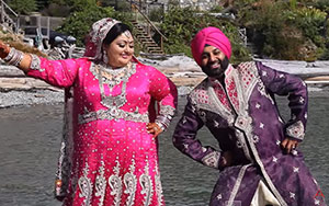 Punjabi Family Lip Dub London Thumakda