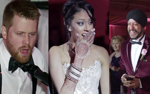 Canadian Groom Sings 'Tum Hi Ho' For His Indian Bride At Their Wedding