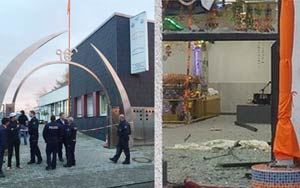 3 Injured As Masked-Man Attacks Wedding At Sikh Temple With Explosive In Western Germany