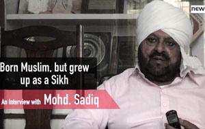 Meet Mohammad Sadiq - Born Muslim, Brought Up A Sikh