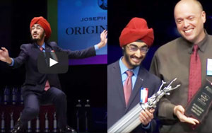 Sikh High School Student JJ Kapur Wins The 2017 Original Oratory Champion At Tournament Of Champions