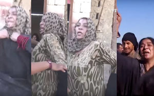 Syrian Woman Celebrates By Ripping Off Her Black Robes After Breaking Free From ISIS