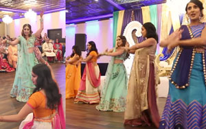 This Indian Bride's Sangeet Performance On Bollywood Songs Will Tug At Your Heart