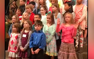 This Little Girl's DANCE Moves During A CHURCH Choir Will Leave You Awestruck