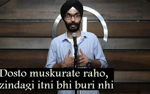 Muskurate Raho: Poet Amandeep Singh Encourages People To Focus On The Positives Of Life