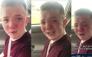 Tennessee Boy's Tearful Description Of Schoolyard Bullying Goes Viral