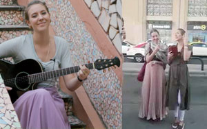 British Singer Tanya Wells Stuns Audience With 'Dama Dam Mast Qalander' Rendition