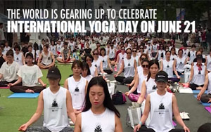 Watch: World Takes To The Mat Ahead Of International Yoga Day