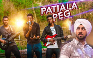 Patiala Peg Cover By Jalandhar's African Students